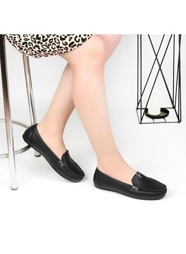 Pandora Ss920 Bayan Günlük Babet Ayakkabı Siyah